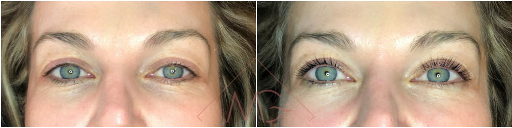 Lash Lift & Tint BEFORE & AFTER by MG Professional