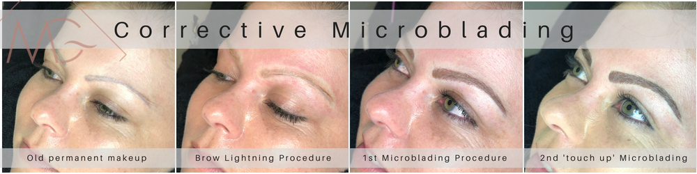 Painless Corrective Microblading done by MG Professional